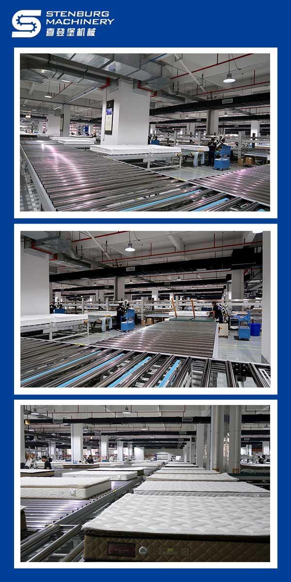 Complete mattress production line design plan 4